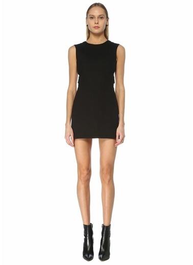 Maje Maje  Dekolte Detaylı Mini Elbise 101627563 Siyah